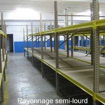 Rayonnage semi-lourd