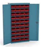 armoire avec ou sans portes pour bacs